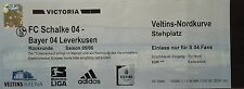 TICKET 2005/06 FC Schalke 04 - Bayer Leverkusen