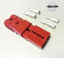 PAIR ANDERSON SB175AMP 600V Plug CABLE TERMINAL BATTERY POWER CONNECTOR-RED