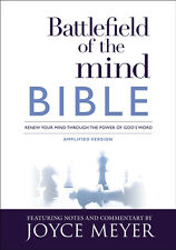 Amplified Bible, Battlefield Of The Mind Bible, Hardcover