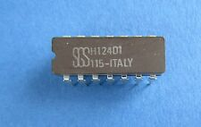 H124D1  Dual 4-Input NAND (passive pull-up)  SGS