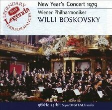 BOSKOVSKY / VIENNA PHIL ORCH-NEW YEAR`S CONCERT 1979  CD NEW