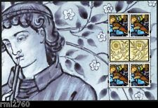 2011 WILLIAM MORRIS PSB PANE 4 - Xmas stamps SG 3186ab