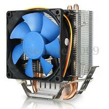 12V CPU Fan 25 dBA Cooler Heatsink for Intel LGA775/1156/1155 AMD 54/939/940/AM2