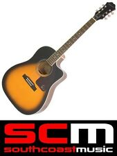 AJ220SCE EPIPHONE ACOUSTIC ELECTRIC GUITAR SPRUCE TOP VINTAGE SUNBURST FINISH