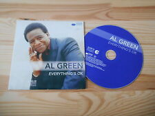 CD Pop Al Green - Everything's OK (12 Song) Promo/Sticker BLUE NOTE EMI