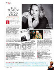 Jessica Lange 1-page clipping Apr 2009 The Prime of ....