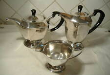 3 PIECE SILVER PLATED TEA SET
