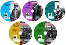 698 Civil War Books - Ultimate Collection - History & Genealogy on DVD/CD