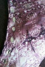 Ladies size 14, plum jewel design, one-shoulder top with sparkly stones. 'NEXT'