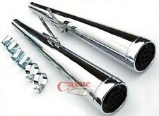 Dunstall Style Silencers To Suit Honda CB750 Motorcycles