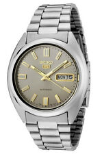 Seiko 5 SNXS75 Men's Stainless Steel Grey Dial Self Winding Automatic Watch