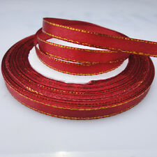 "Free Shipping pretty 25 Yards 1/4""(6mm)Satin Ribbon Wedding Party Supply LE160"