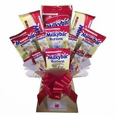 Milkybar Chocolate Bouquet - Sweet Hamper Tree Explosion - Perfect Gift