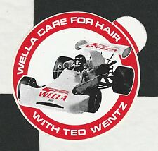 WELLA TED WENTZ FORMULA ATLANTIC LOLA T360 PERIOD STICKER AUFKLEBER AUTOCOLLANT