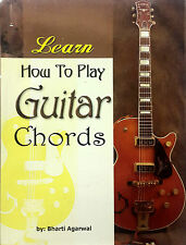 LEARN HOW TO PLAY GUITAR CHORDS, BOOK IN ENGLISH, TUTORIAL, GUITAR CHORDS