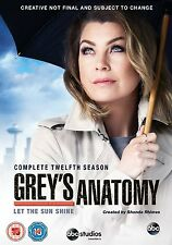 Grey's Anatomy - Season 12 [6 DVDs] *NEU* Greys Staffel Zwölf DVD