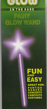 Glow in the Dark Fairy Glow Wand (Glow Stick - Various Colors)