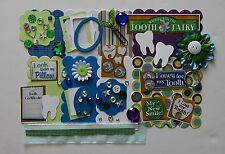 Tooth Fairy First Lost Tooth Chipboard Mini Book Album DIY Kit (Scrapbook)