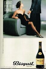 Publicité advertising 1984 Cognac Bisquit