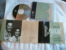 promo STANDARDS FROM THE HOUSE OF BRYANT cd EVERLY BROS roy orbison CHET ATKINS