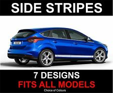 Ford fiesta focus focus c-max fusion galaxy side stripes decals stickers