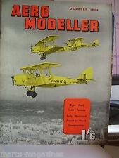 RARE AEROMODELLER OCTOBER 1954  MODEL AIRCRAFT SAAB J 29 RAY MALMSTROM PLAN
