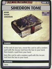 Pathfinder Adventure Card Game - 1x Sihedron Tome - Spires of Xin Shalast