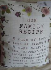 NEW NEXT OUR FAMILY RECIPE CUSHION PAD INCLUDED