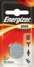 5 x Energizer CR2025 3V Lithium Coin Cell Battery 2025