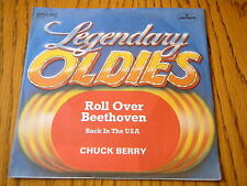 "CHUCK BERRY - ROLL OVER BEETHOVEN / BACK IN THE USA  7"" VINYL PS"