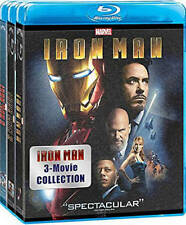 Iron Man: 3 Movie Collection [Blu-ray Boxset] New Blu-ray