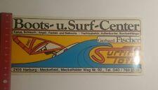Pegatina/sticker: Boots u surf Center gerhard Fischer surfing total (031216191)