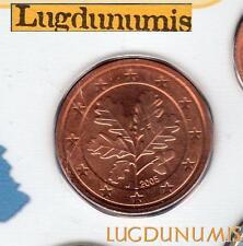 Allemagne 2005 5 centimes J Hambourg BU FDC provenant coffret 85000 exemplaires