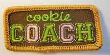 """New Girl Scout Cookie Sale Fun Patch """"Cookie Coach"""""""