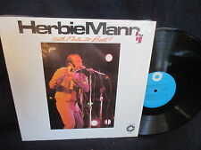"""Herbie Mann """"With Flute to Book"""" LP  in SHRINK"""