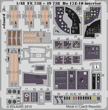 Eduard Zoom fe738 1/48 Dornier Do 17z-10 Icm