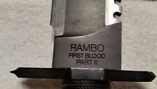 rambo first blood part 2 , the mission knife