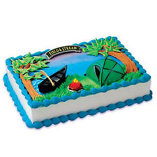 Cake Decorating Topper by Field and Stream - Tent Camping Set