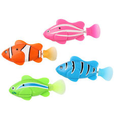 1PC Robofish Water Activated Battery Powered Robo Fish Toy Kids Robotic Auto Pet