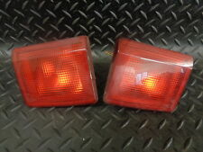 2005 PEUGEOT 407 SW 2.0 HDI 5DR PAIR OF REAR FOG LIGHT ASSEMBLIES