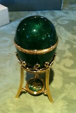 Fabergè Menagerie Frog Surprise Egg 2003 New in Box with paperwork