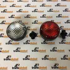 Land Rover Defender NAS Style Upgrade Round Fog & Reverse Light Lamp - 6522 3507