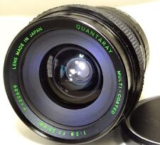 Quantaray 28mm f2.8 OM Lens adapted M4/3 mount Panasonic cameras Micro 4/3 GH4 2