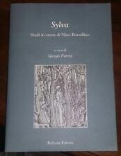 sylva-studi in onore di nino borsellino-giorgio patrizi-solo il volume 2-bulzoni