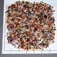 GEMSTONE MIX 4-10mm tumbled, 1/2 lb bulk xmini stones quartz jasper more