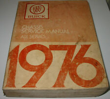 Service Manual Buick All Series Skyhawk Skylark Century Electra Riviera Estate!