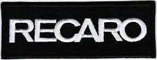 Recaro Motorcycle Sport Seating Bike Car F1 Racing Badge Embroidered Patch