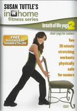 SUSAN TUTTLE IN HOME FITNESS BREATH OF LIFE CHAIR YOGA VOL 2 DVD & BAND SENIORS