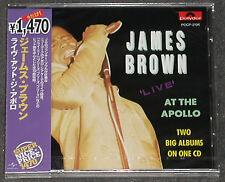 JAMES BROWN Live At The Apollo Vol 2 COMPLETE CD Polydor JAPAN New Sealed NEU