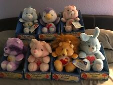 Vintage New in box lot of Care Bear Cousins plush